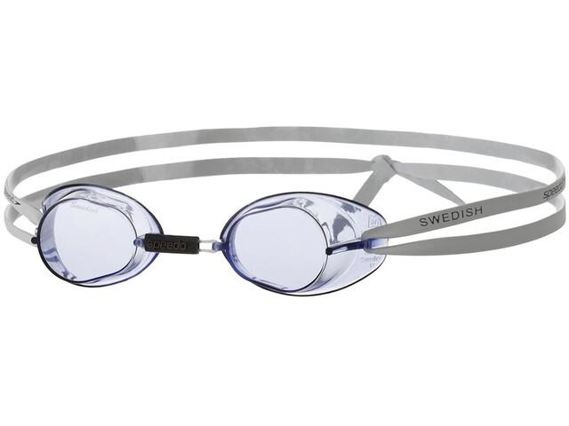 speedo Swedish Goggles, white/blue